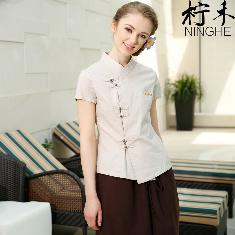 Online buy wholesale beauty salon wear from china beauty for Spa uniform wholesale