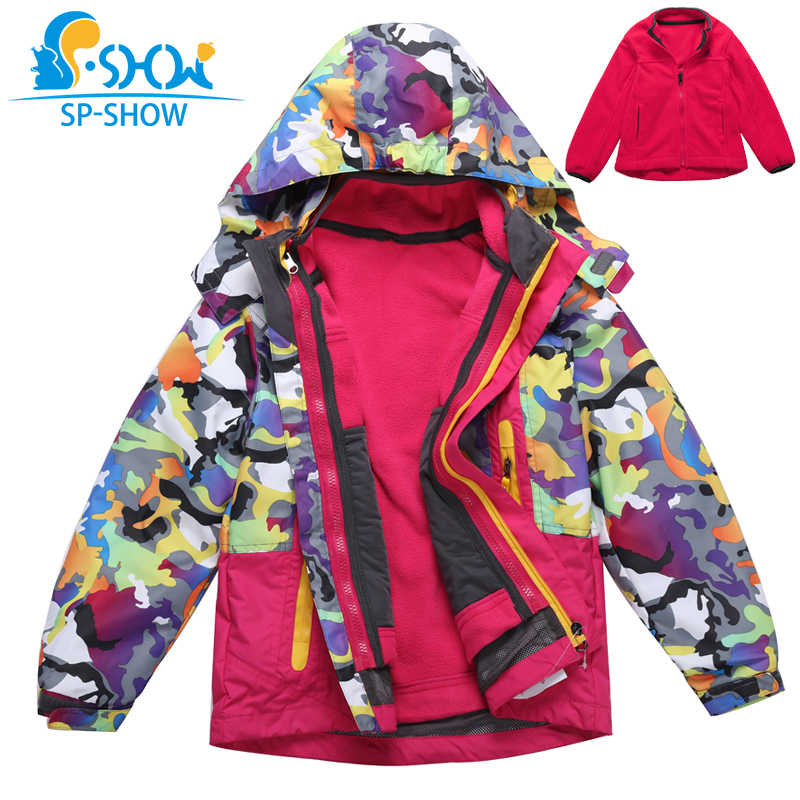 2019 Luxury Brand 5-10 Age Boys Double Piece Hooded Trench Spring & Autumn Waterproof Jacket For Girls SP-SHOW Coats 691052019 Luxury Brand 5-10 Age Boys Double Piece Hooded Trench Spring & Autumn Waterproof Jacket For Girls SP-SHOW Coats 69105