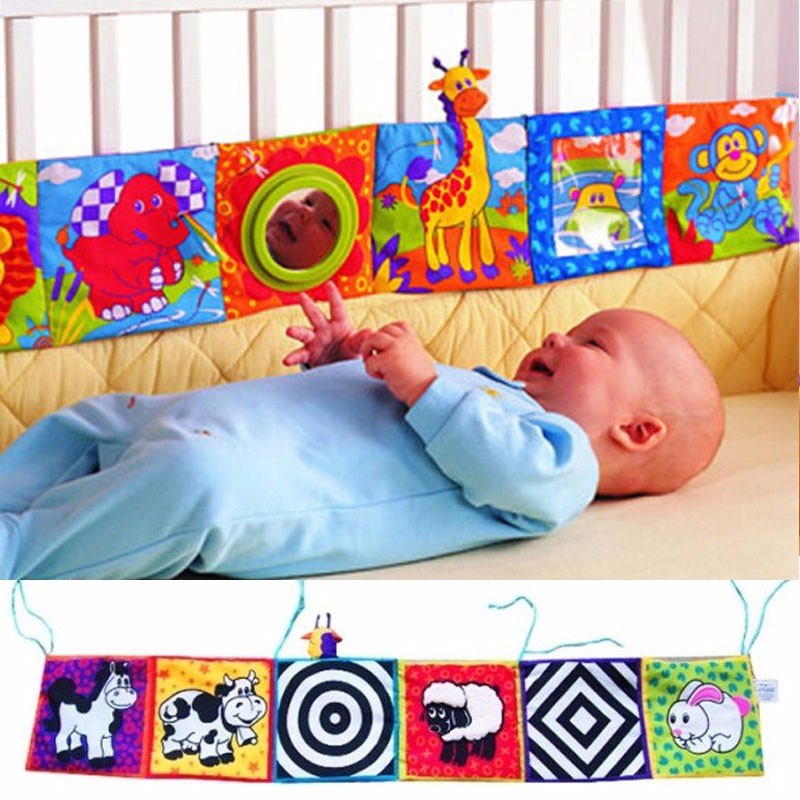 Infant Baby Kid Intelligence Development Soft Cloth Book Toys Animal Cognize Education Book Free Shipping