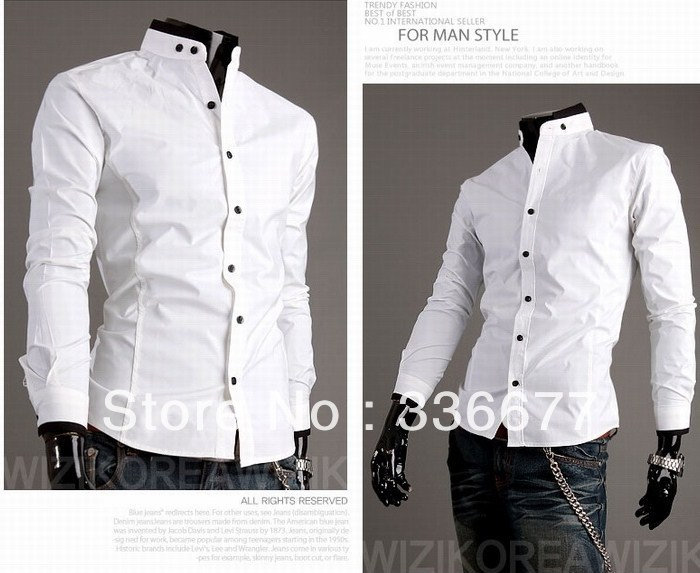 Aliexpress.com : Buy Free Shipping Men Brand Fashion Slim Fit ...