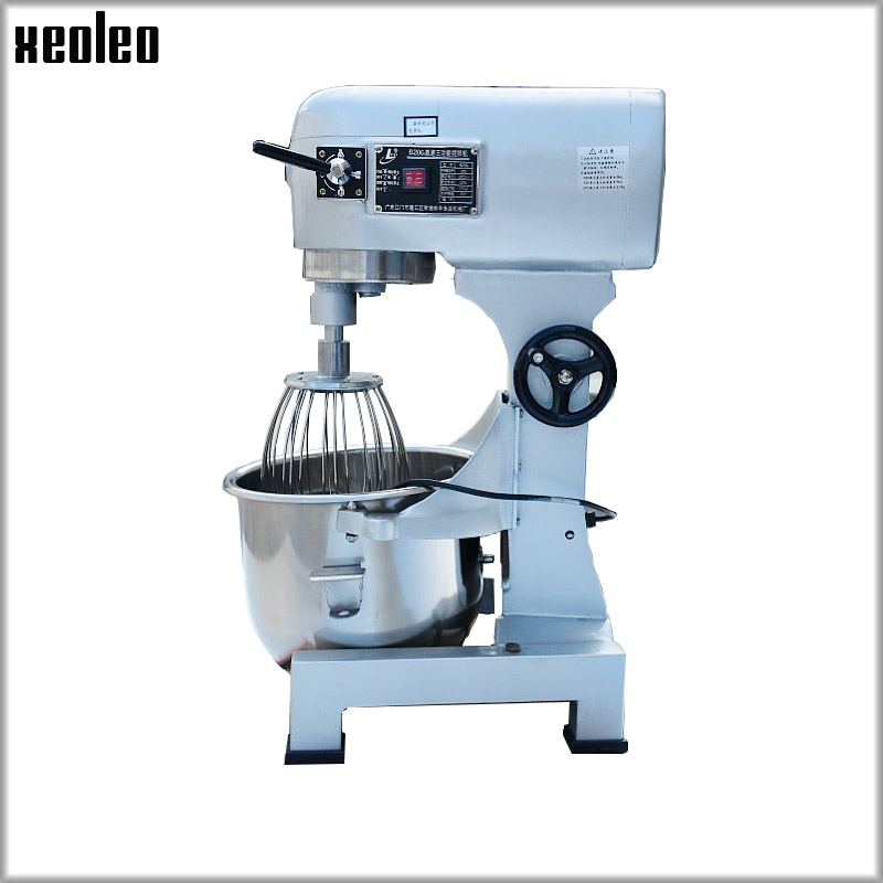 XEOLEO 20L Planet Food mixer Commercial Dough Kneading machine 1100W Egg beater Baking machine Stand mixer Cream Blend machine цена и фото