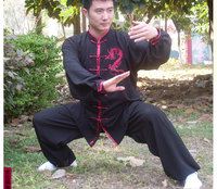New Custom Made Tai Chi Suits Cotton Wu Shu Clothes Kung Fu Uniform Morning Exercise The