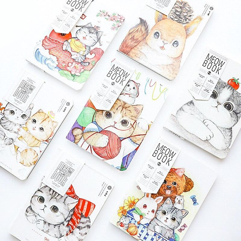Intelectivo 1 Piezas 1442 A Fu Cat Manual De Página En Blanco Cuaderno Manual De Limpieza Diario
