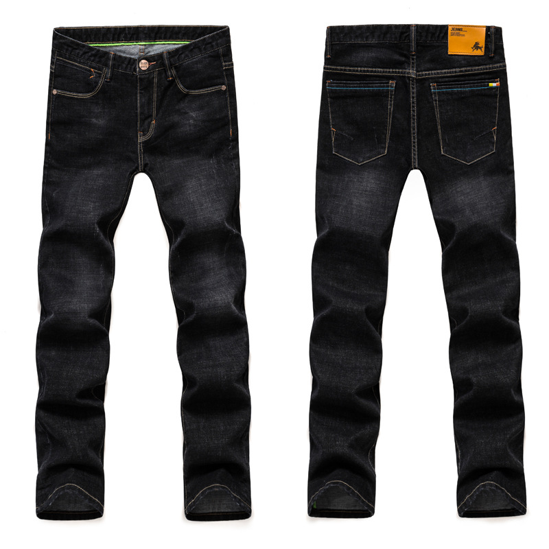 New 2017 Autumn Skinny Jeans Men Black Plus size 28-42 ...