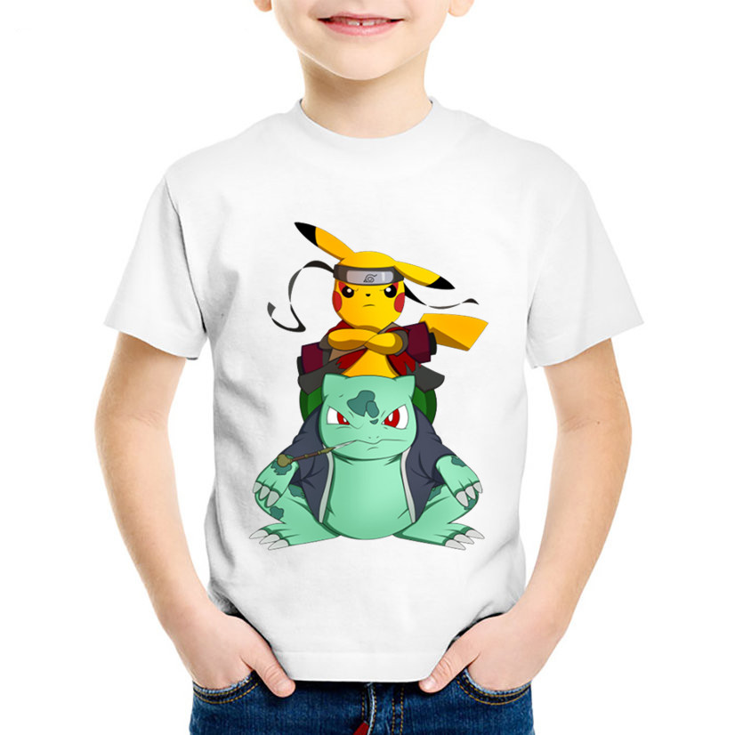 Children Anime Print Naruto Pikachu In Thor Armo Funny T-shirts Kids Summer Tees Boys/Girls Pokemon Go Tops Baby Clothes,HKP5069Children Anime Print Naruto Pikachu In Thor Armo Funny T-shirts Kids Summer Tees Boys/Girls Pokemon Go Tops Baby Clothes,HKP5069