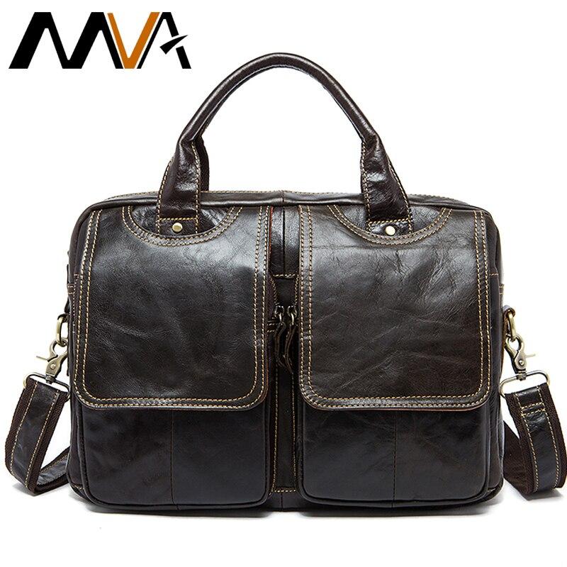 MVA กระเป๋าผู้ชาย/กระเป๋าถือหนัง/กระเป๋าแล็ปท็อปสำหรับผู้ชายกระเป๋าหนังธุรกิจเอกสาร man กระเป๋าเอกสารกระเป๋าถือ 8002 1-ใน กระเป๋าเอกสาร จาก สัมภาระและกระเป๋า บน AliExpress - 11.11_สิบเอ็ด สิบเอ็ดวันคนโสด 1