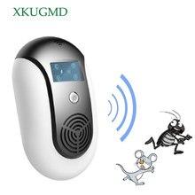 Anti moustique à ultrasons appareil pour rongeur électronique piège à souris domestique répulsif pour chat électrique artefact insecte