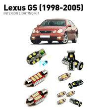 Led interior lights For Lexus gs 1998-2005  17pc Lights Cars lighting kit automotive bulbs Canbus