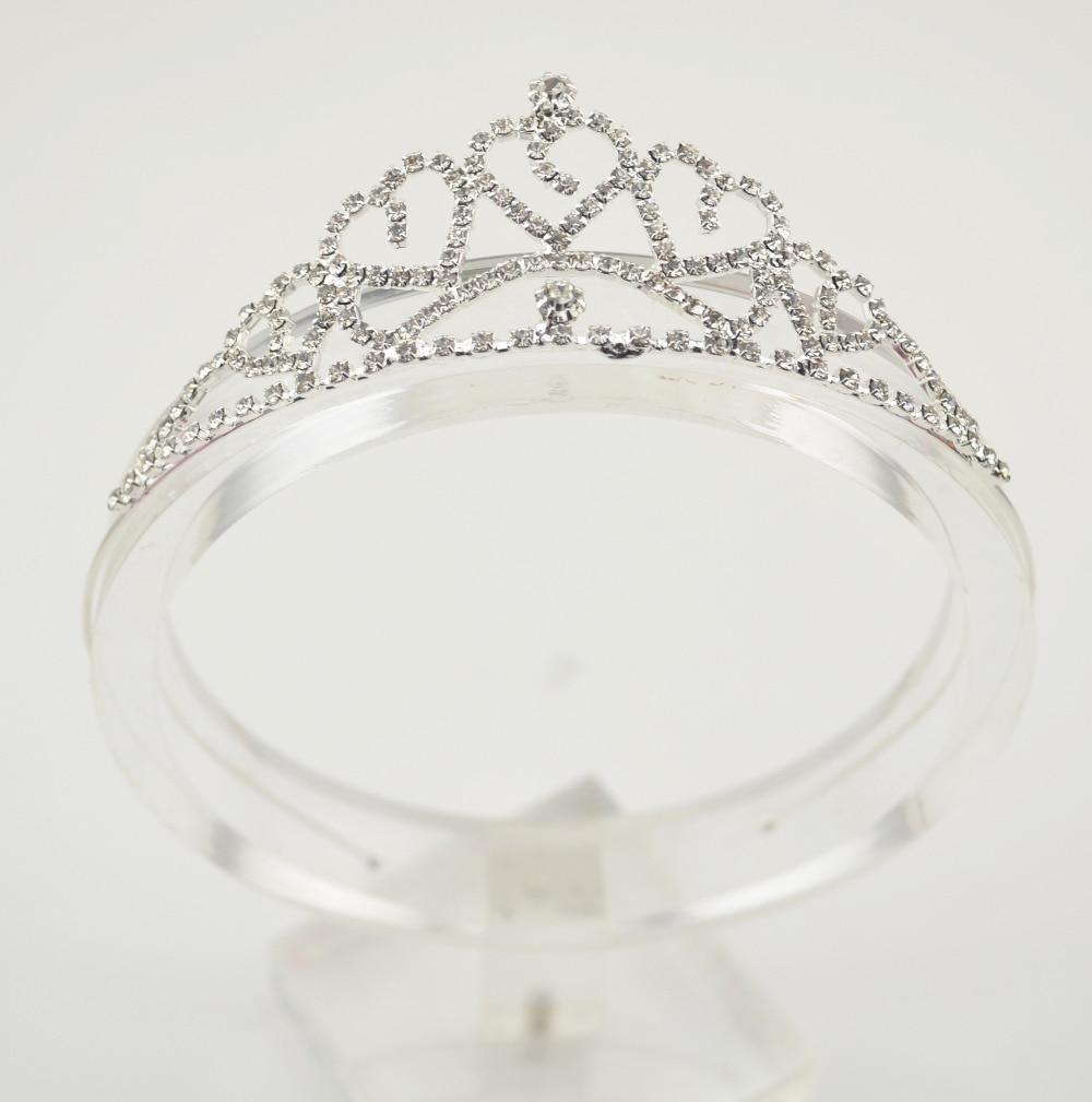 Baby Girls Princess Hairband Child Party Bridal Crown Headband Crystal Diamond Tiara Hair Hoop Hair bands