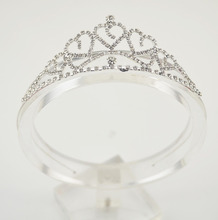 Baby Girls Princess Hairband Child Party Bridal Crown Headband Crystal Diamond Tiara Hair Hoop Hair bands Accessories