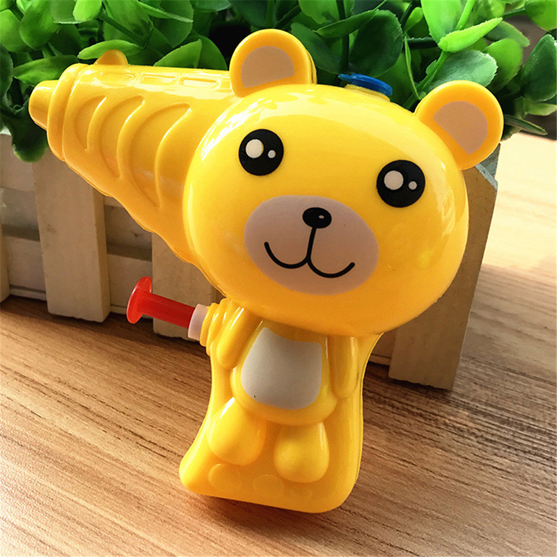 Kid Outdoor Toys Lovely Cartoon Animal Soap Water Bubble Gun For Children Blowing Bubbles Toy Manual Bubble Gun Blower Randomly