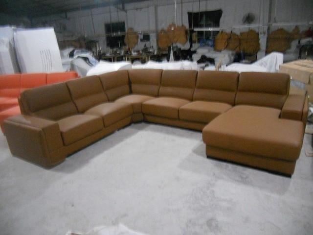 Leather Sofa/Living Room Sofa Furniture Set U Shape  4