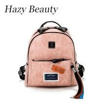 Belleza brumoso Nuevo sello de diseño caliente de las mujeres del arco iris franja mochila super chic señora school girls bolsas de mano bolsas de buena calidad DH648