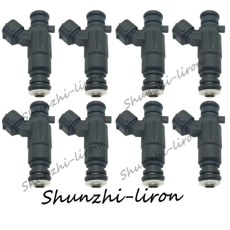 8 шт. топливный инжектор для Hyundai Accent 1 5 1.6L SOHC/DOHC L4 1999 2005 OEM: 35310 22600 3531022600/35310