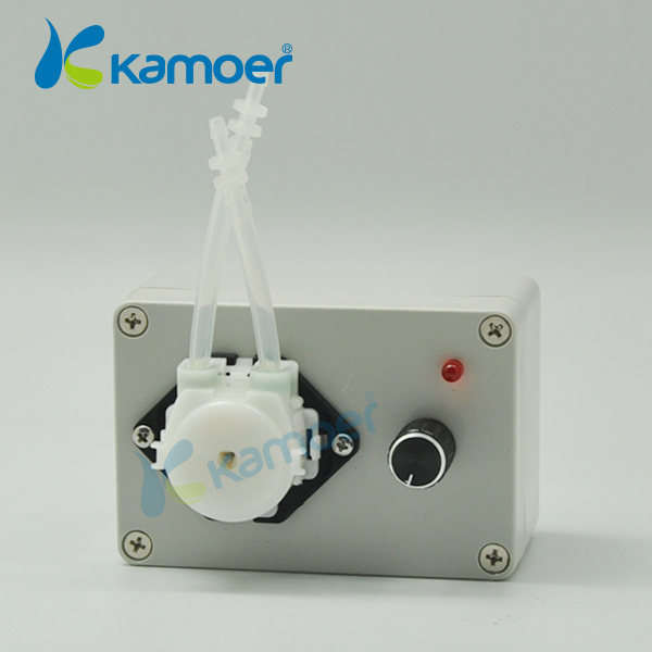 Kamoer micro peristaltic pump 24V with adjustable flow rate mini water pump dosing pump For Chemical Lab kamoer KCP (L) kamoer 12v mini peristaltic pump stepper motor with higher flow rate