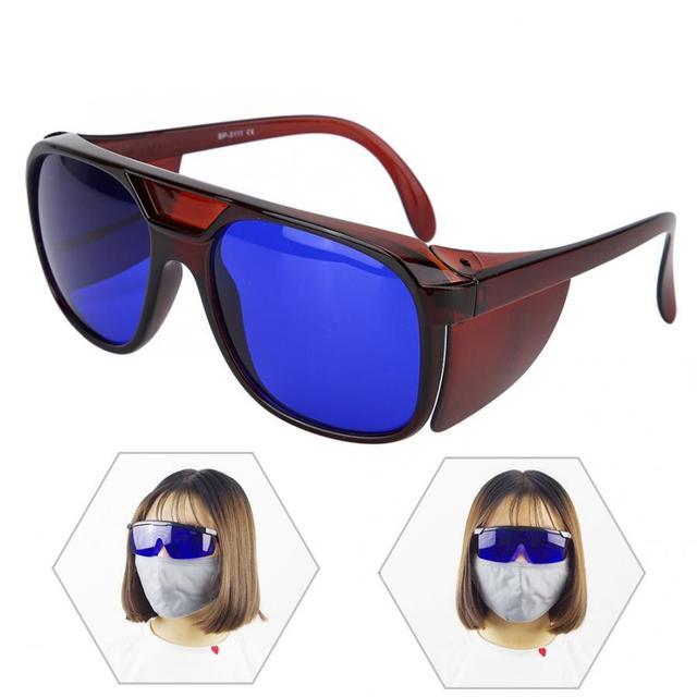 Lasery okulary ochronne czerwony 650nm  660nm okulary ochronne przeciw promieniom podczerwieni