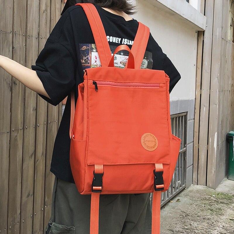 Fashion Women Waterproof Backpack Korean Shoulder Bag Backpack For Teenage Girl College School Bag Female Mochilas Rucksack