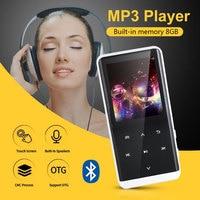 Multifunctional Portable Bluetooth MP3 Player Bluetooth MP4 MP3 MP4 Photo Viewer Bluetooth Video Player HIFI 8GB