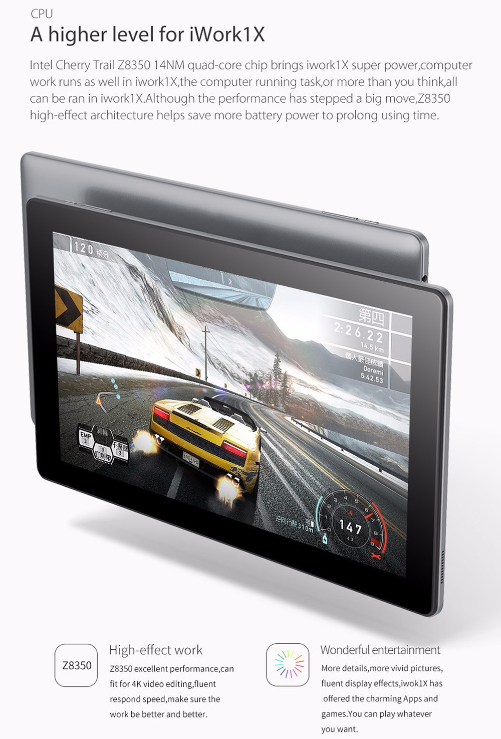 tablet pc for video editing