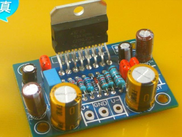 Free Shipping!  1pc   TDA7294 mono fever amplifier board kit parts