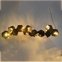 Welles araña 14 globo brillo iluminación pantalla E14 lámpara luz de la noche Luz Accesorios de lámpara de iluminación abajur