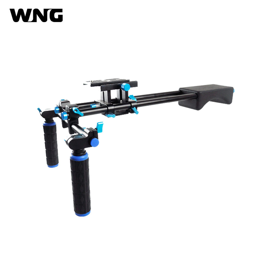 DSLR Rig Shoulder Mount Rig Filming Photography Accessories For Canon Sony Nikon SLR Video Camera DV Camcorder купить