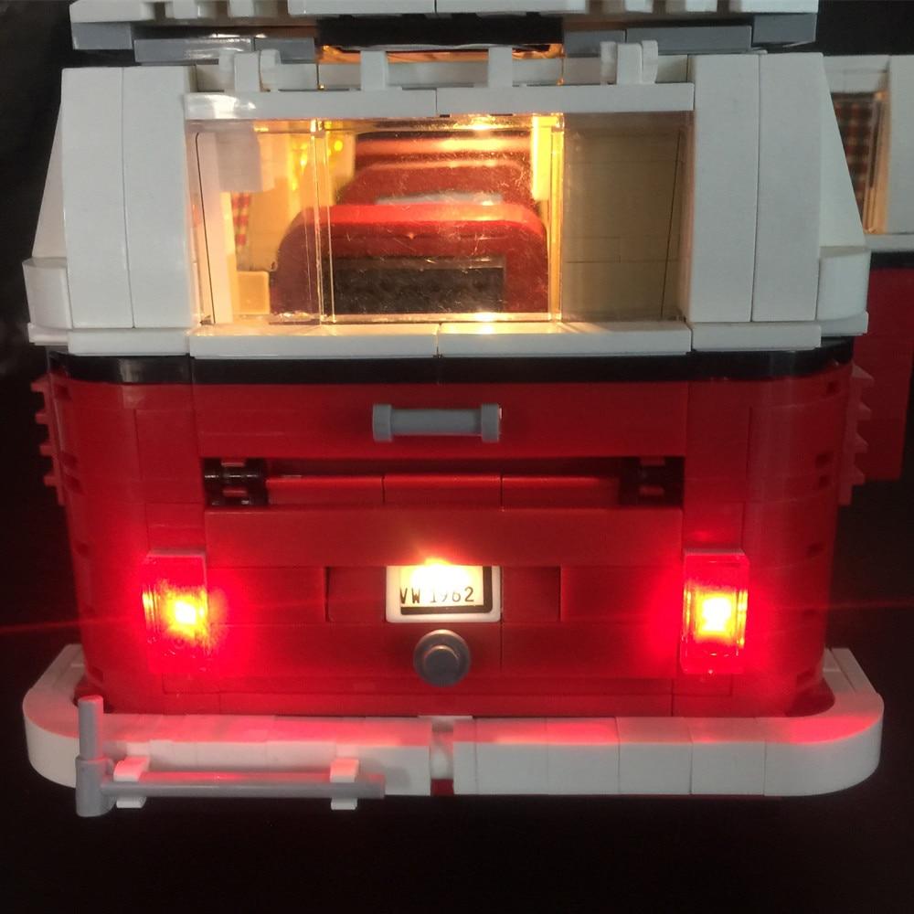 LED Light Kit For lego 10220 lepin 21001 Create Series the Volkswagen T1 LEGO