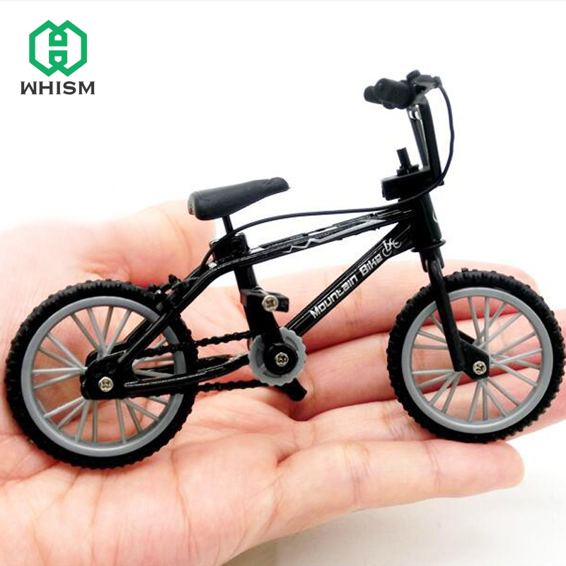 Mini Finger Bicycle Model Mountain Bike Decorations Children Toys Micro Landscape Office Home Decoration Accessories