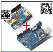 1pair only good quality Ethernet W5100 network expansion board SD card Shield for arduino with UNO