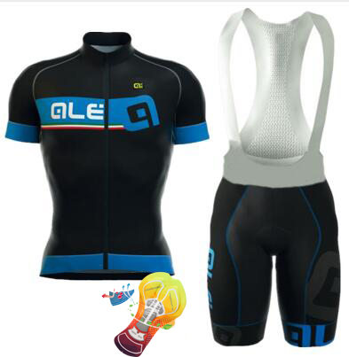 ALE 2017 Cycling Jerseys Summer Team Short Sleeves Cycling Set Bike Clothing Ropa Ciclismo Cycling Clothing Sports Suit S007