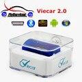 Función fuerte Super MINI Viecar 2.0 ELM327 Bluetooth DEL OLMO 327 OBD2 Herramienta Diagnositc Escáner Para Android Sistema de PC