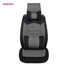 HeXinYan Universal Flax Car Seat Covers for Luxgen all models LuxgenU5  5 7SUV 6SUV SUV 5 seats car styling auto accessories задний стеклоочиститель для luxgen 7 suv