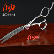 John Shears Japanese VG10 Cobalt Alloy Scissors for Cutting Hair Professional Hairdressing Scissors for Barber Shop Supplies