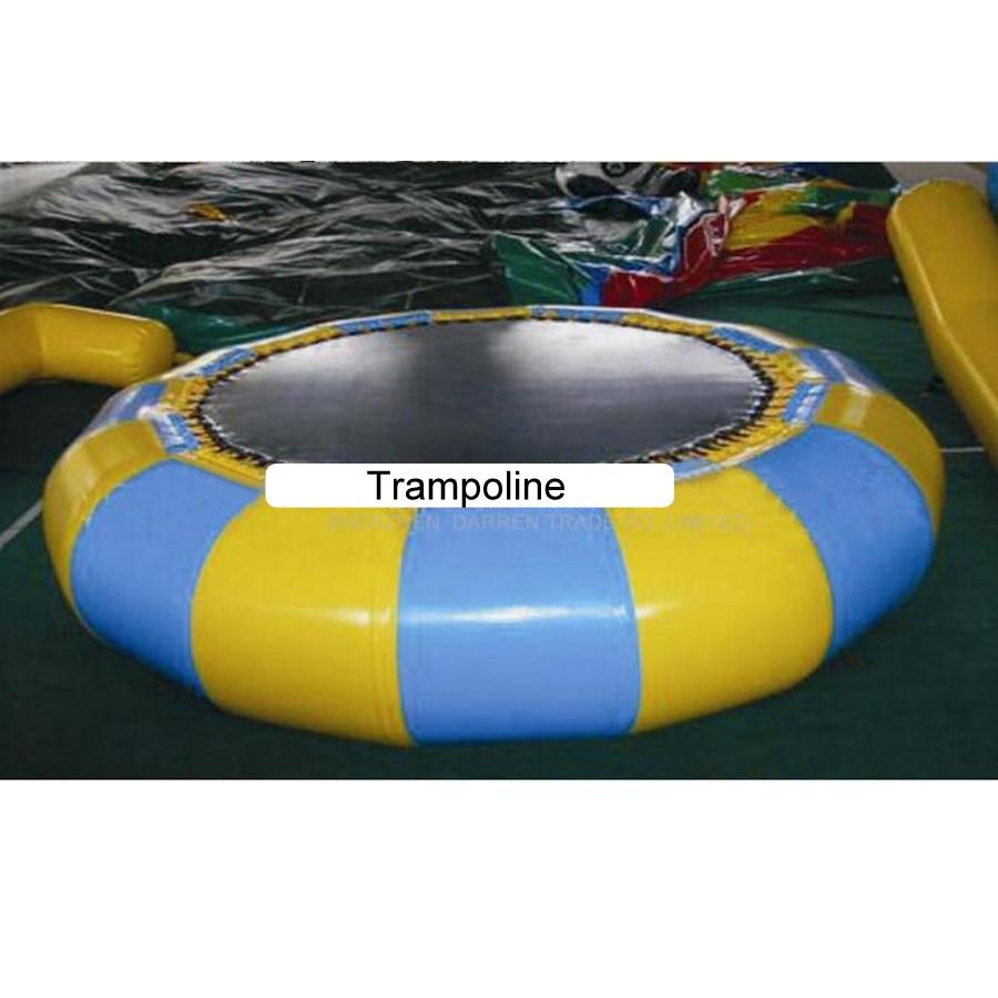 2.5 m tiup trampolin air tiup air melompat tidur trampolin air