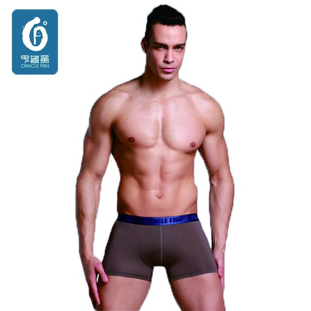 Estilo verão Mens Underwear Boxer Shorts dos homens dos pugilistas Sexy U Homens Convexas Cueca Metade Transtparent Homem Cuecas Para O Sexo Masculino