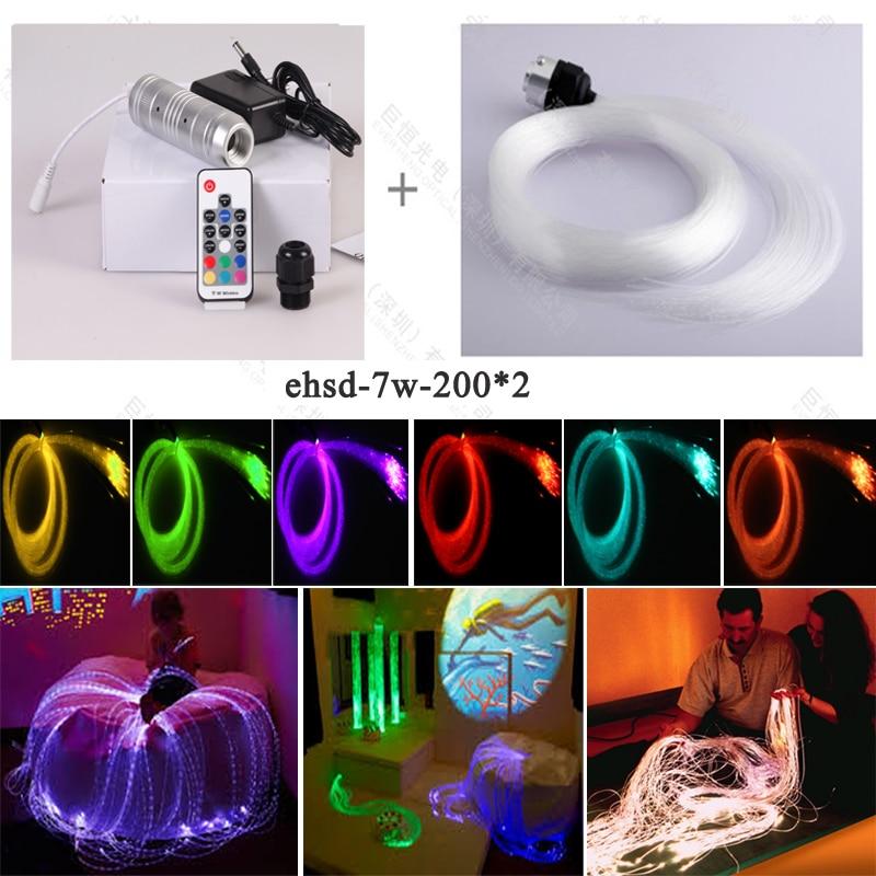 Shimmering Sensory Optic Fiber Lighting kits toys for Autism disable children elderly nutrition for autism