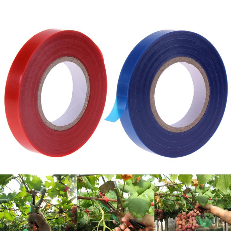 20 Pcs Plant Branch Hand Tying Binding Machine Flower Vegetable Garden Tapetool Tapener +Tapes Garden Tools  Gardening Tape