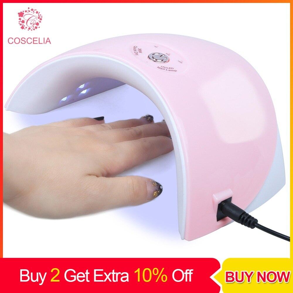 36 W UV Gel lampe à led vernis à ongles Sèche-lampe pour ongles machine de manucure nail art Sèche-lampe à led lampe à Gel Pour Manucure vernis à ongles