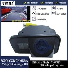 FUWAYDA SONY CCD чип заднего вида резервная камера для TOYOTA SIENNA/SCION XB XD/URBAN CRUISER/AURIS/SIENNA