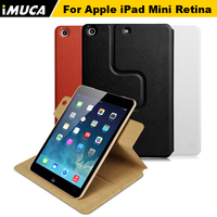 IMUCA Magnetic Leather Case For I Pad Mini 1 2 3 Retina Case Cover Stand 360