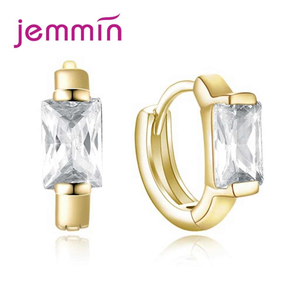 JEMMIN New Fashion Gold Colour Earrings Ring For Women