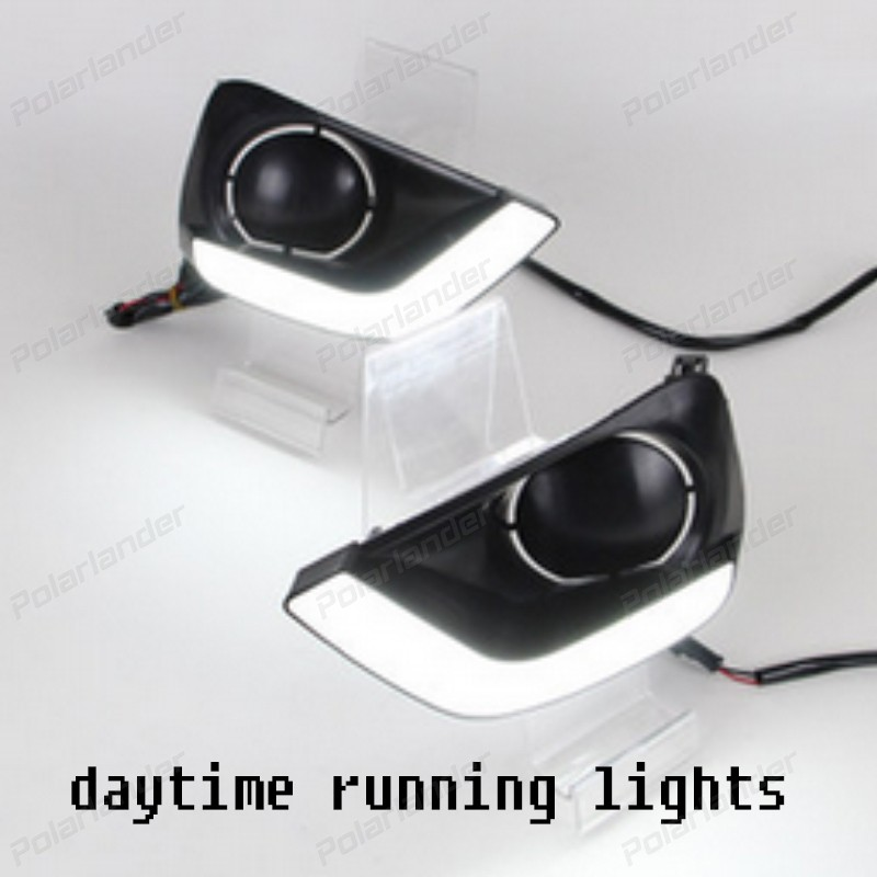 hot sales auto part drl car accessory Daytime running lights For  T/oyota V/ios 2014-2015  car styling