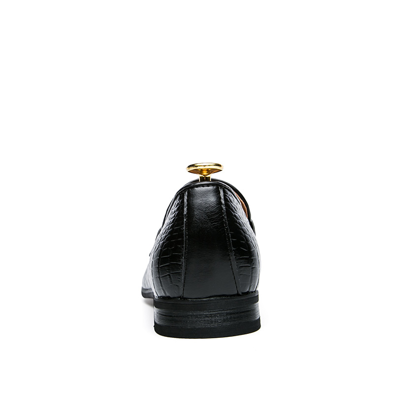 mens tassel shoes leather italian formal snake fish skin dress office footwear luxury brand fashion elegant oxford shoes for men (6)