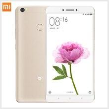 Оригинал Xiaomi Mi Max Премьер Мобильного Телефона 3 ГБ RAM 64 ГБ ROM Ми макс 6.44 «Snapdragon 652 Окта основные 4850 мАч 4 Г LTE Отпечатков Пальцев ID