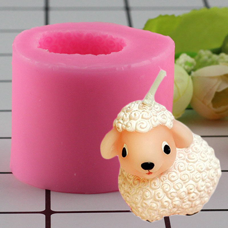 Sheep Soap Molds S357 Craft Art Silicone Soap Mold Craft Molds DIY Handmade Candle Molds