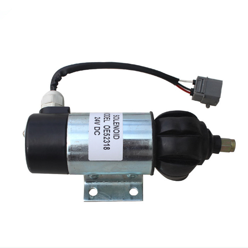 Replace Fuel Shutdown Solenoid Valve OE52318 51557 Penta 872825 873754 24V DC +Free fast shippinG free shipping dc 24v 1 4 female thread water flush solenoid valve ro systerm plastic