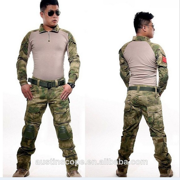 Tactical Combat Uniform Gen 3 shirt+pants Military Army Pants with knee pads Size XS-XXL emes g3 tactical pants with knee pads em7036 army pants typ mr hld mcbk mcad