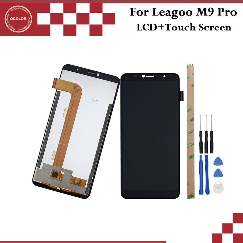 ocolor For Leagoo M9 Pro LCD Display and Touch Screen 5 72 inch Mobile Phone Accessories