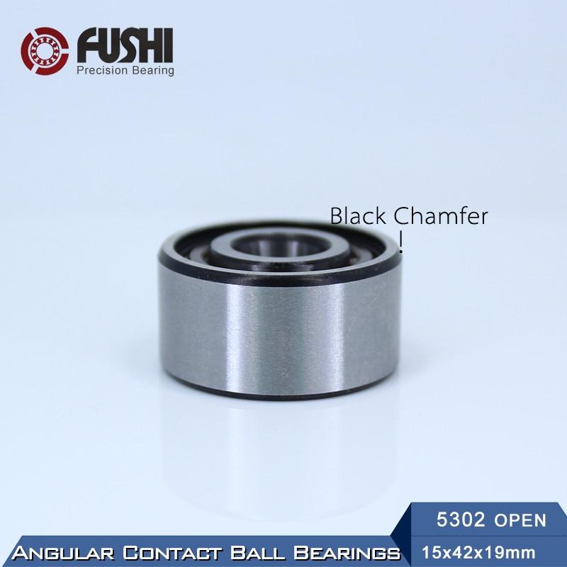 5302 OPEN Bearing 15 x 42 x 19 mm ( 1 PC ) Axial Double Row Angular Contact  5302 3302  3056302 Ball Bearings