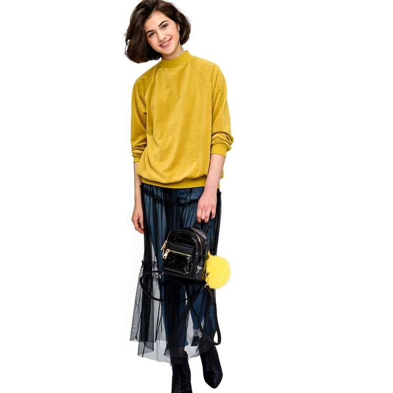 Sweaters befree 1731586498 woman jumper sweater clothes apparel turtleneck pullover for female TmallFS